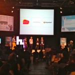 Capsule.FM on stage with the two other finalists at HY Berlin